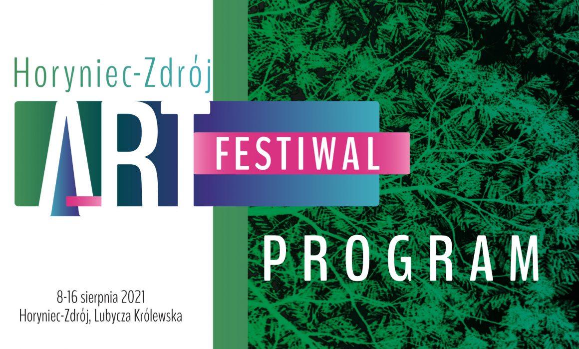 Oficjalny program tegorocznej edycji Art Festiwalu!